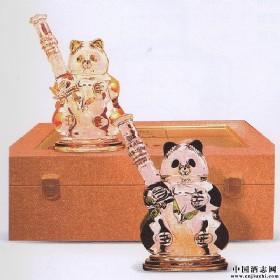 2007年熊猫造型酒(双瓶礼盒)