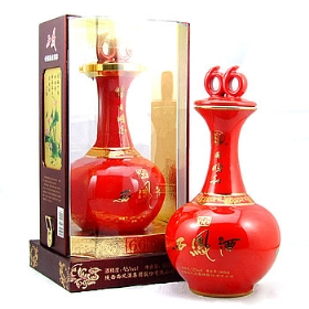 西凤45度500毫升(同顺和 红瓷珍品)