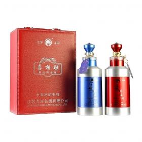 洋河 喜相融自由调度酒(38度-52度)480毫升(高档礼盒)