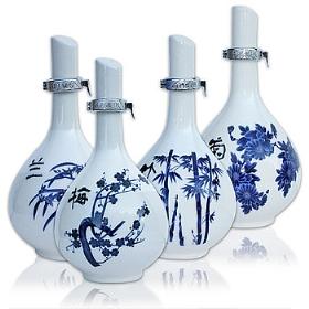 汾酒42度475毫升(臻品梅兰竹菊(4瓶))