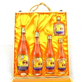 汾酒杏花村53度2000毫升(木质礼盒5瓶)