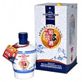 汾酒杏花村42度450毫升(金家酒(十周年特制))