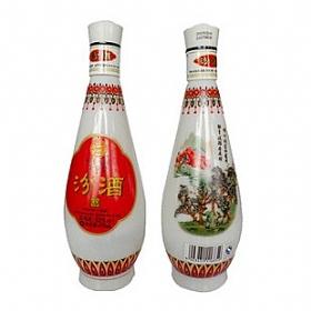汾酒杏花村53度475毫升(乳白瓷琵琶汾酒)
