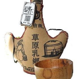 百吉纳38度500毫升(草原乳香皮囊奶酒)
