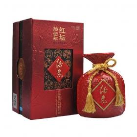 酒鬼15年年份酒52度500毫升(红坛)