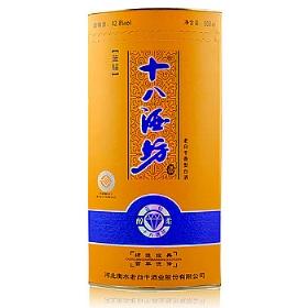 衡水老白干十八酒坊42.8度500毫升(蓝钻(黄盒))