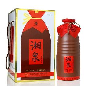 酒鬼湘泉酒54度2580毫升(建厂55周年纪念酒)