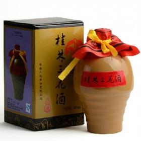 桂林三花55度500毫升(美陶瓶特酿)