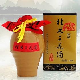 桂林三花55度500毫升(陶瓶特酿)