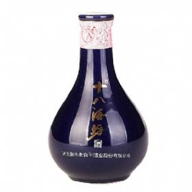 衡水老白干十八酒坊40.8度100毫升(小酒版)