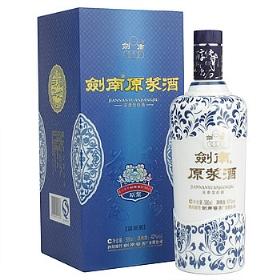 剑南春原浆酒42度500毫升(蓝瓷装)