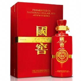泸州老窖国窖1573酒55度600毫升(红爵)