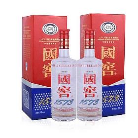 泸州老窖国窖1573酒43度500毫升(两支装)