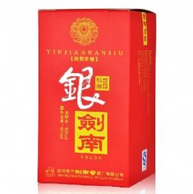 剑南春银剑南52度500毫升(新红盒)