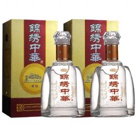 九台春锦绣中华43度500毫升(精酿2瓶套装)