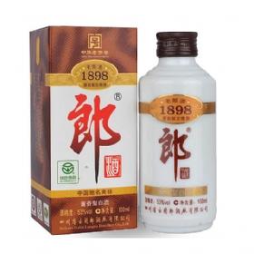 郎酒老郎酒53度100毫升(1898小酒版)