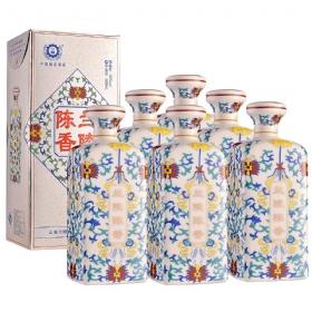 兰陵陈香50度500毫升(瓷瓶6瓶套装)