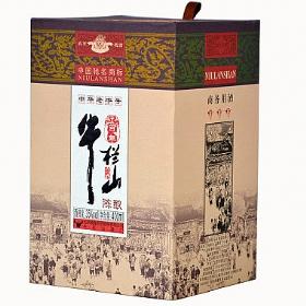 百年牛栏山陈酿35度400毫升(商务用酒)