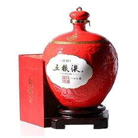 五粮液70度6000毫升(封坛藏酒红花瓶)