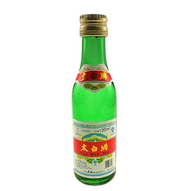 太白酒50度100毫升(普太白绿瓶)