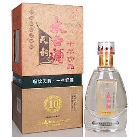 太白酒50度500毫升(天韵十年珍品)