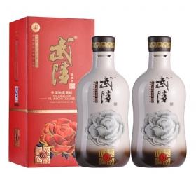 武陵6年芙蓉国色52度500毫升(2瓶套装)