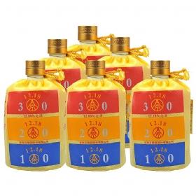 五粮液1218纪念酒52度500毫升(6瓶套装・裸瓶)