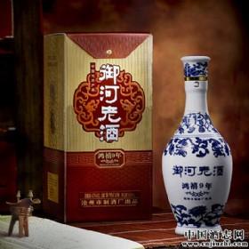 42度500ml御河老酒(鸿喜9年)