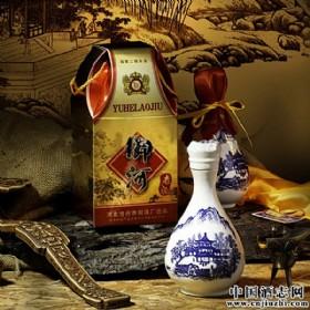 42度500ml青花瓷瓶御河老酒