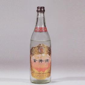 70年代初产55度500ml金标古井酒