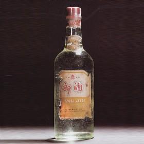 70年代60度500ml黄标玻璃郎酒