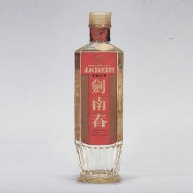 80年代60度500ml长江大桥牌红标方瓶剑南春