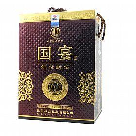 杜康52度1000毫升(年份国宴封坛(2012)酒)