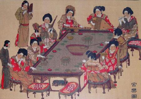 古代酒桌礼仪