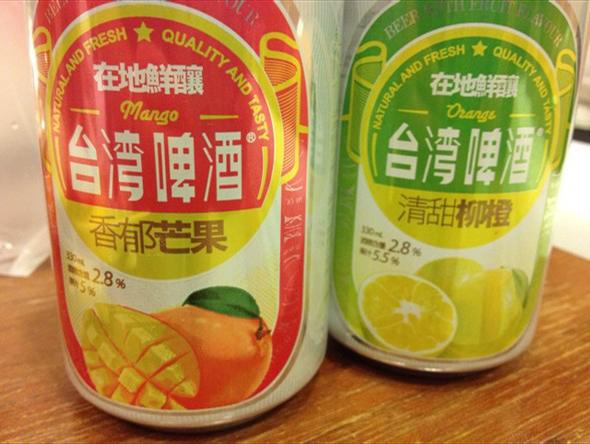 果蔬味啤酒