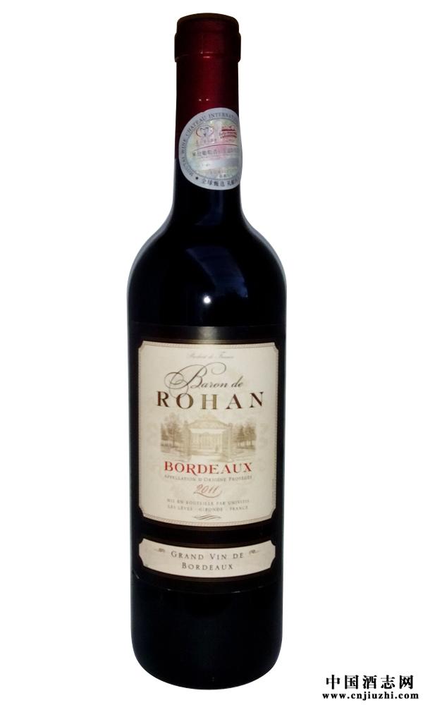 法国波尔多男爵原装进口红酒