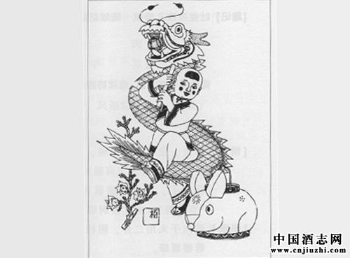 乾隆年手绘百鹿图图片