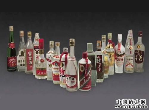 中国十七大名酒50年的样子变迁
