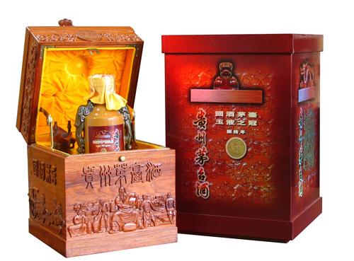 中国酱香型白酒分布