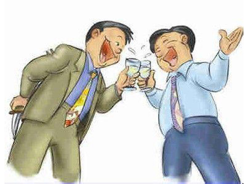 与长辈之间饮酒的小礼仪