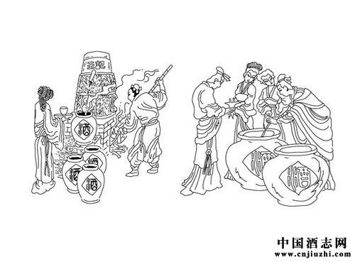 中国酒历史文化:中国各大酒品
