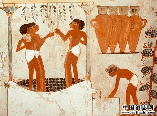 葡萄酒的历史起源