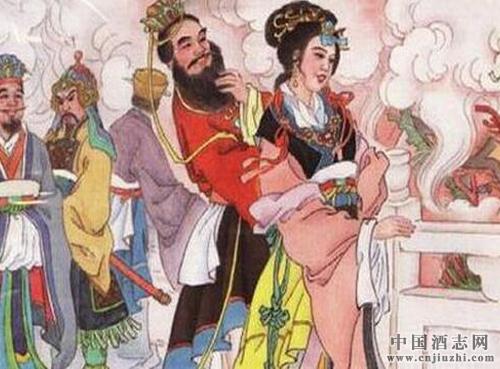 酒文化故事:周幽王设酒宴点烽火戏诸侯