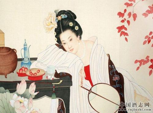 中国酒文化故事 贵妃醉酒