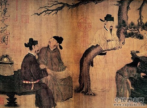 """古代酒文化 唐太宗的""""自来酒会"""""""