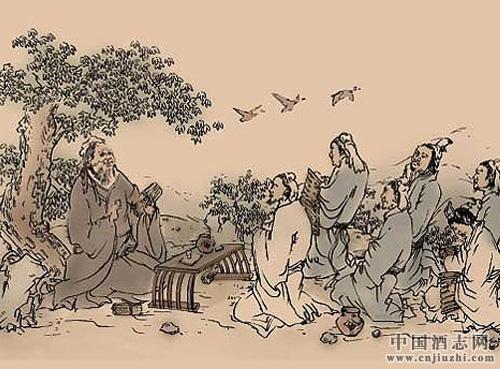 《论语》中的酒文化 《论语》中有关酒的描写