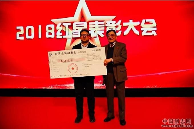 2018年度红星表彰大会暨首届高景炎奖励基金颁发