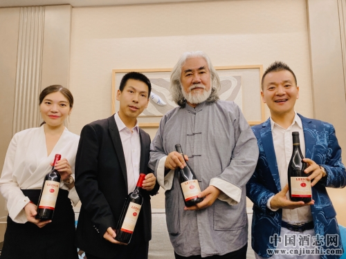 张纪中签约雷盛红酒品牌代言人,品质生活从品雷盛红酒开始