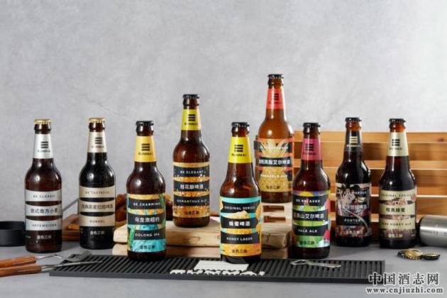 金色三麦精酿啤酒