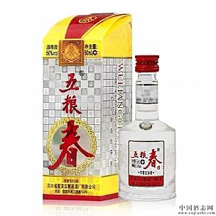 重庆五粮春50度浓香型白酒500ml